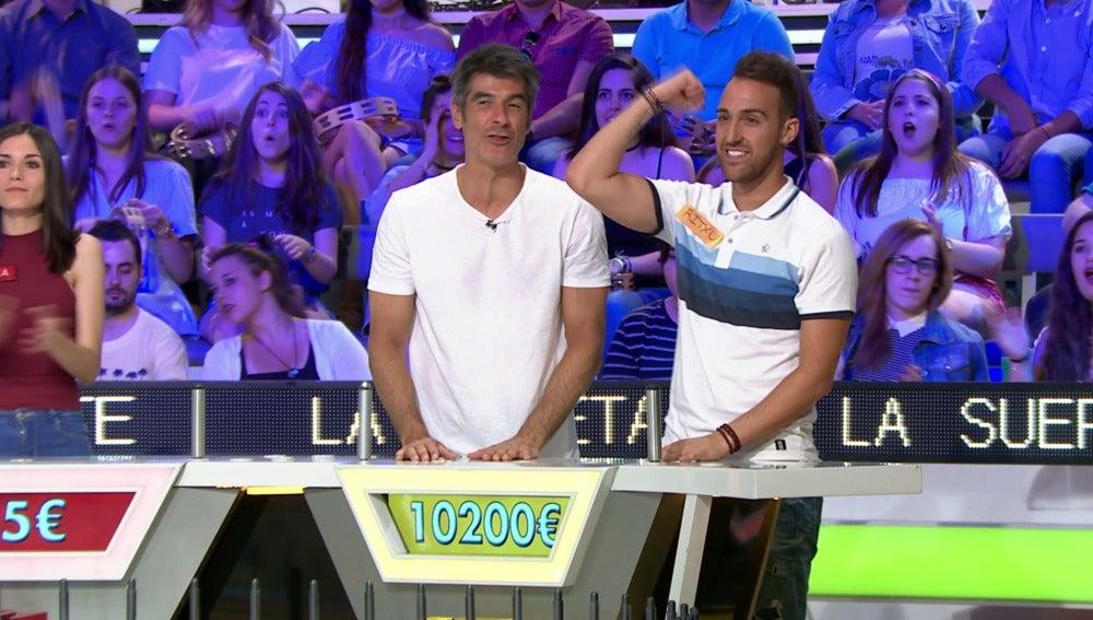 Un concursante de la ruleta se lleva 10.200 euros