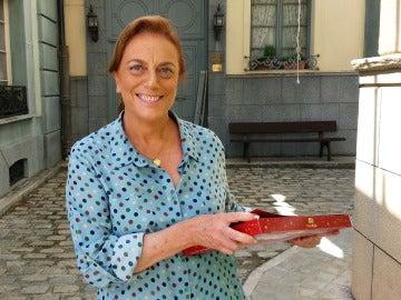"""Lola Casamayor: """"Con mucho gusto de haber trabajado con mi novio Pelayo"""""""