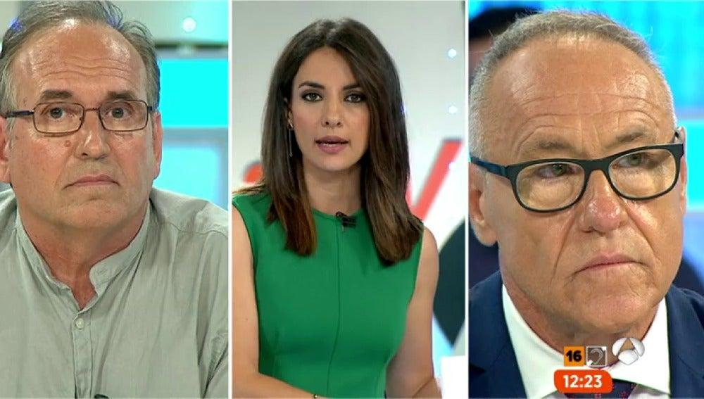 Antena 3 tv pedro de bernardo abogado de la madre de for Espejo publico diana quer