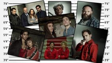 Los actores de 'La casa de papel' confiesan sus mayor robo en la vida real