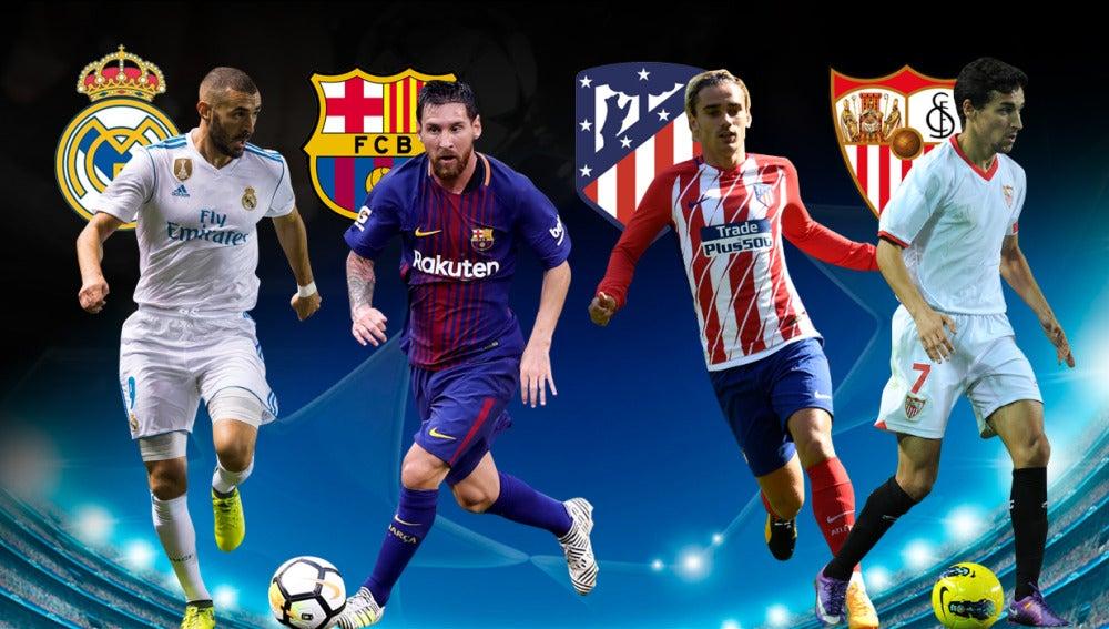 Sorteo fase de grupos Champions 2017/18
