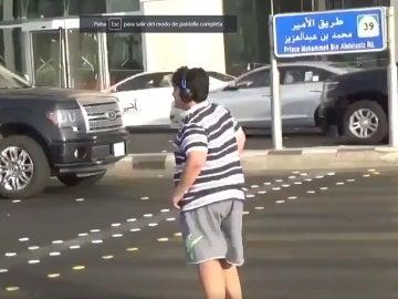 Captura del vídeo compartido en las redes sociales