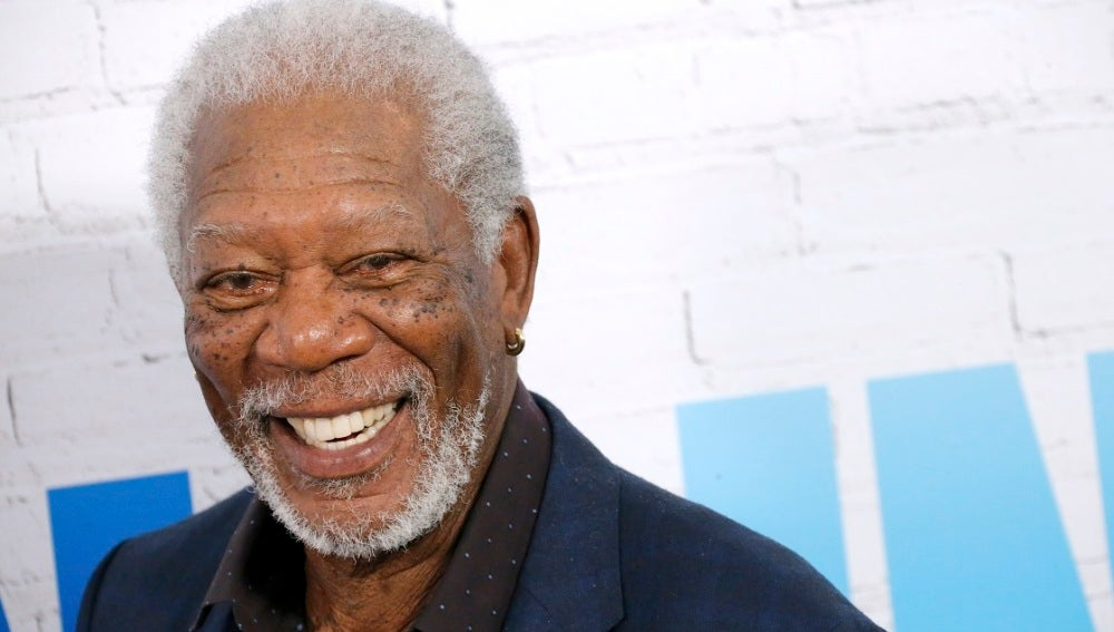 Morgan Freeman en una de sus últimas apariciones públicas