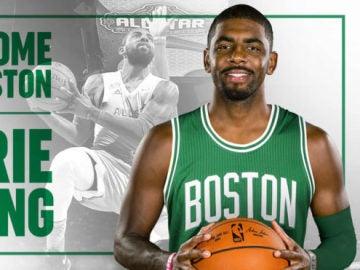 Kyrie Irving, nuevo fichaje de Boston Celtics