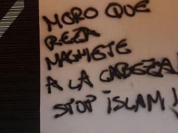 Pintadas en la mezquita de Sevilla
