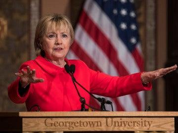 La exsecretaria de estado y excandidata demócrata a la presidencia de Estados Unidos, Hillary Clinton.