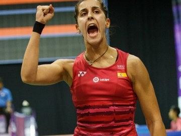 Carolina Marín en el campeonato