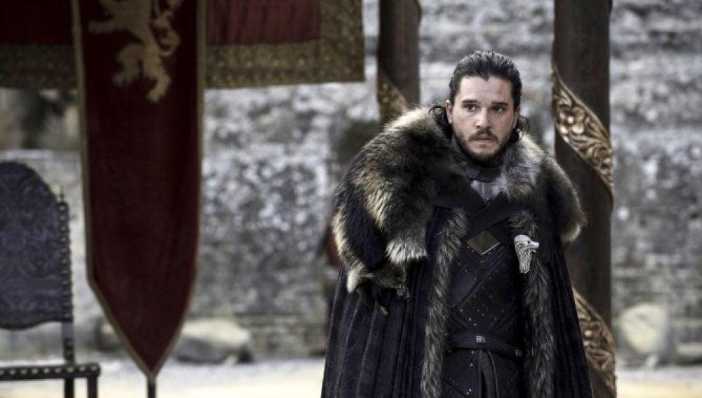 Jon Snow en el capítulo final de temporada de 'Juego de Tronos'