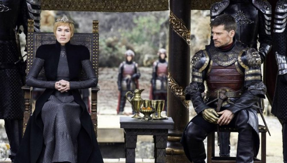 Cersei y Jaime Lannister en el final de temporada de 'Juego de Tronos'