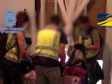 25 detenidos en una operación contra la explotación sexual de mujeres