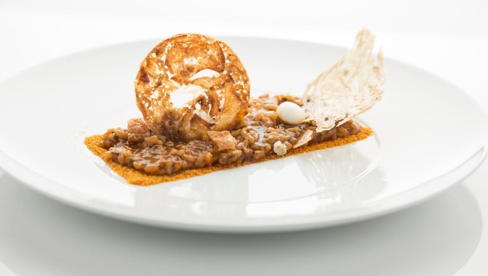 La cocina imaginativa del chef Víctor Corchado.