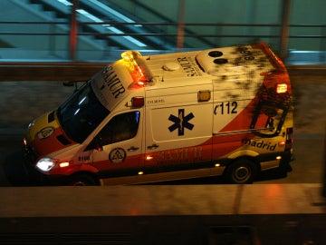 Ambulancia del Samur, imagen de archivo