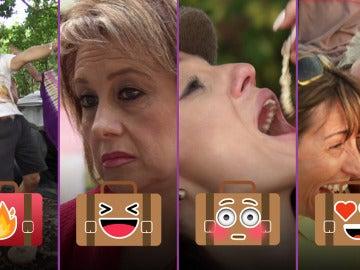 Besos robados, danzas extrañas y madres muy sinceras en el séptimo programa de 'Contigo al fin del mundo'