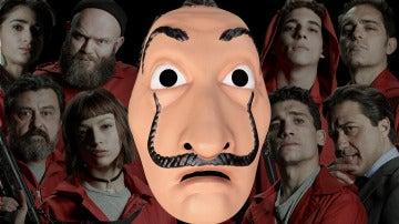 ¿Serías capaz de reconocer a los personajes de 'La casa de papel' con las máscaras?
