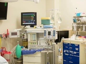 Habitación de hospital, imagen de archivo