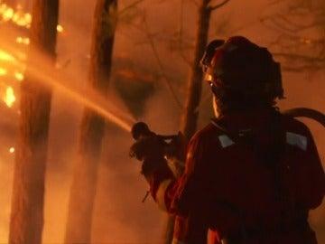 El gran papel de la UME en la extinción de incendios