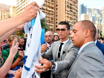 Cristiano Ronaldo en Mónaco