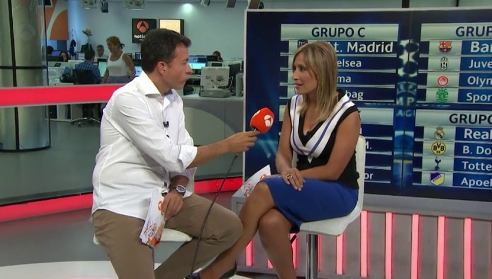Manu Sánchez y Rocío Martínez analizan el sorteo de la Champions