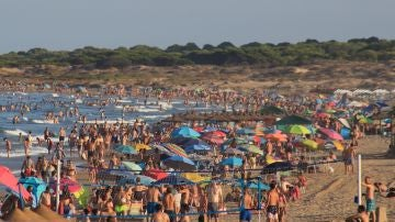 Imagen de una de las playas de Los Arenales del Sol