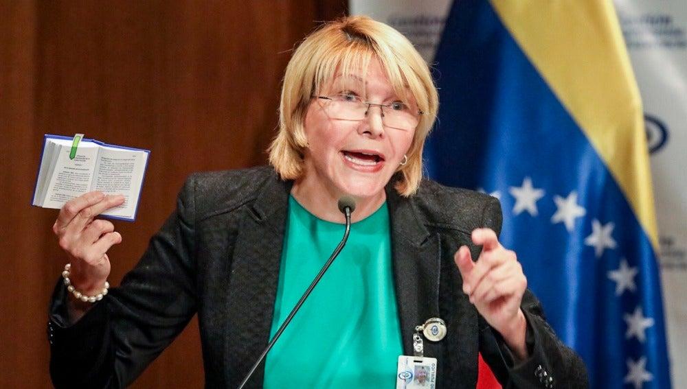 La exfiscal general de Venezuela, Luisa Ortega