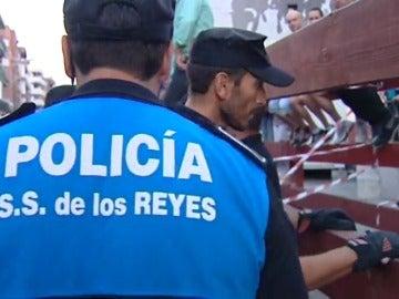 Dispositivo de seguridad especial para las fiestas de San Sebastián de los Reyes