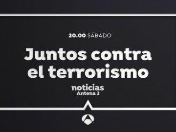 Este sábado, especial de Antena 3 Noticias con motivo de la gran manifestación contra el terrorismo en Barcelona