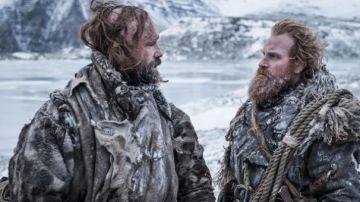 The Hound y Tormund ('Juego de Tronos')