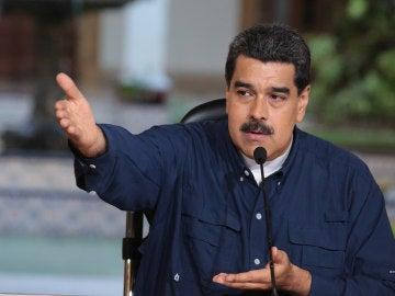 """Maduro repudia """"ilegales"""" sanciones financieras de EE.UU. contra Venezuela"""