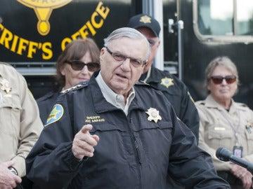 El exalguacil del condado de Maricopa, en Arizona, Joe Arpaio