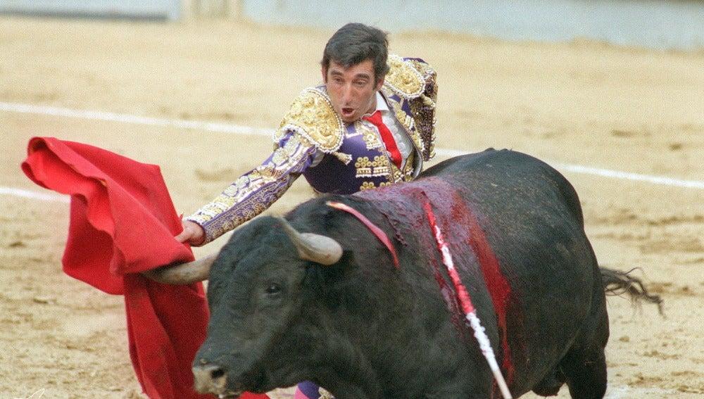 Dámaso González durante una de sus faenas en una imagen de archivo