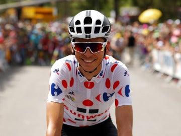 Warren Barguil durante el Tour