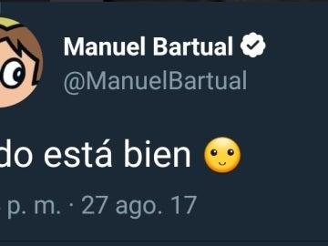 Manuel Bartual revela en Twitter las claves de su relato