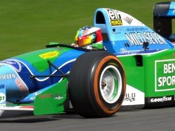 Mick Schumacher con el Benetton