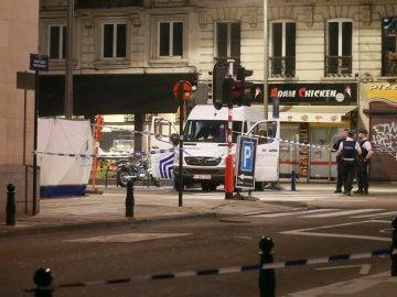 Bruselas, tras el ataque a dos militares