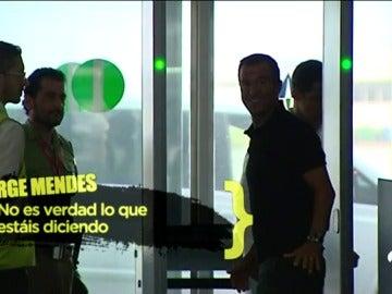 """Mendes: """"¿Di María? No es verdad lo que se está publicando"""""""