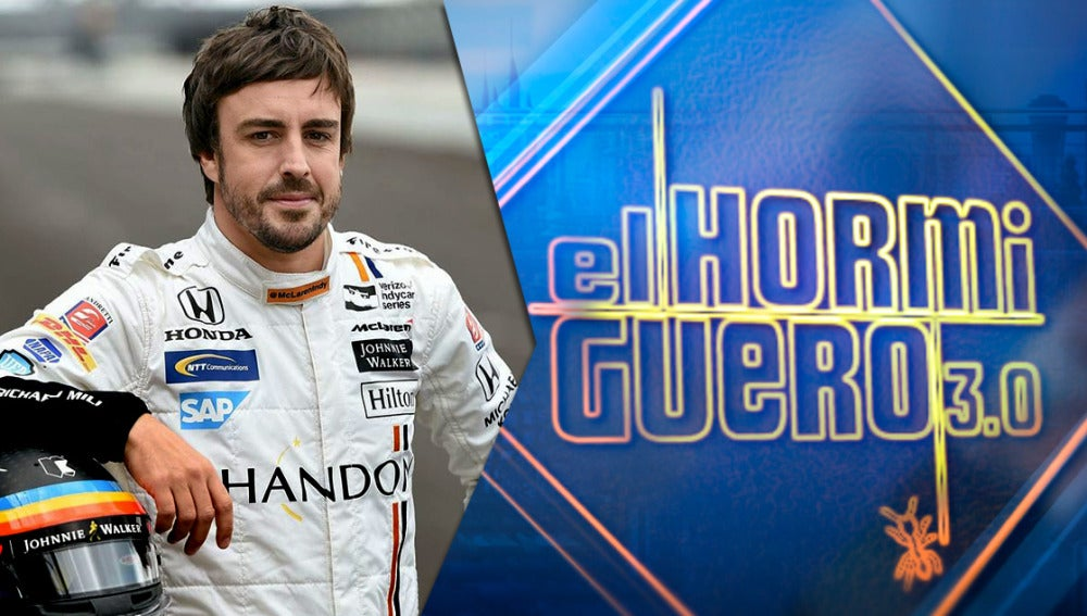 Fernando Alonso en El Hormiguero 3.0