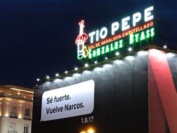 Cartel de la tercera temporada de 'Narcos'