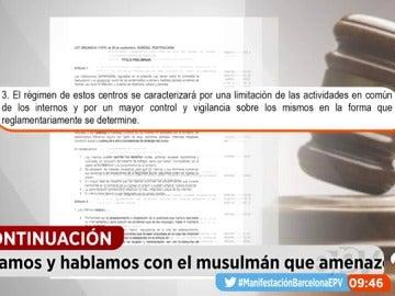 EP terroristas carcel