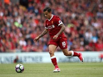 Coutinho con el Liverpool