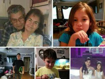 La familia Saldivar