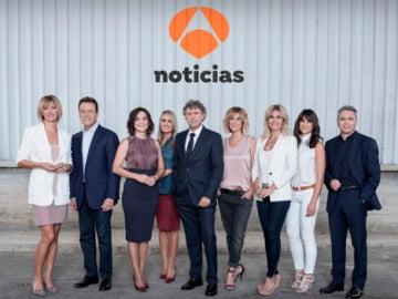 'Antena 3 noticias' estrena nueva temporada en crecimiento y fiel a su compromiso con la actualidad