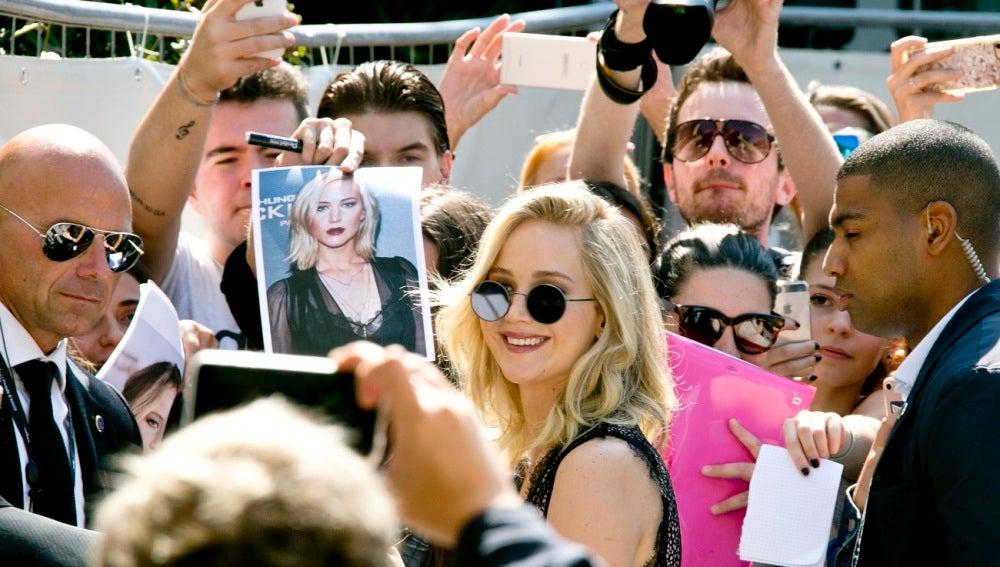 Jennifer Lawrence en el Festival de Venecia