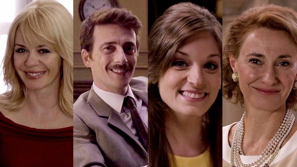 María Adánez, Víctor Clavijo, Meritxell Calvo y Sonia Almarcha, ya viven dentro de 'Amar es para siempre'