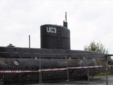 El submarino en el que viajaban la periodista Kim Wall y el inventor Peter Madsen