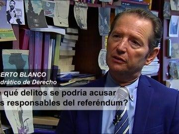 Antena3 Noticias con Roberto Blanco, Catedrático de derecho