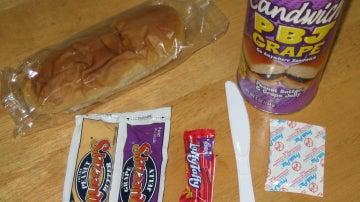 Sándwich dulce enlatado