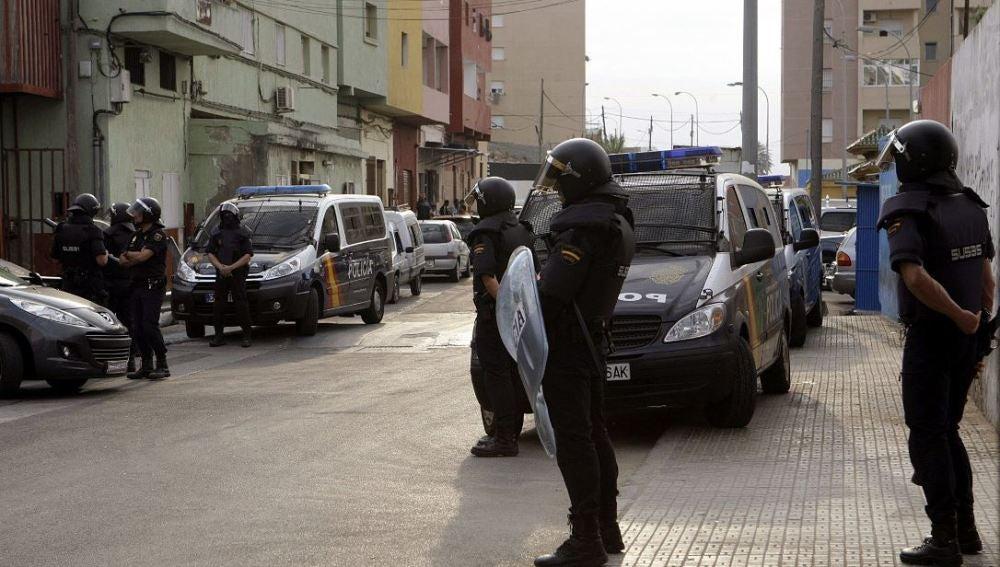 Operación antiyihadista en Melilla (Archivo)