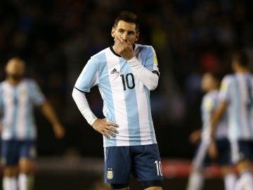 Messi, tras el empate con Venezuela