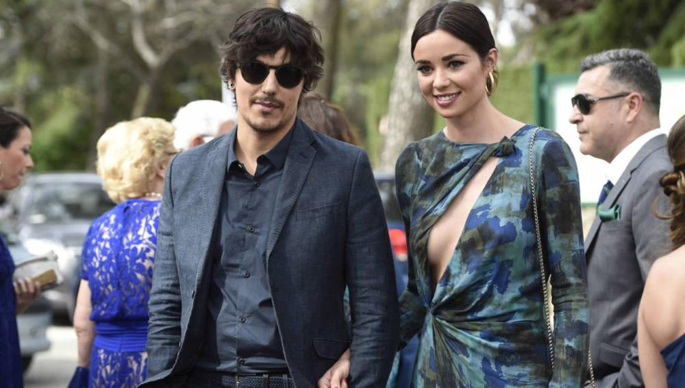 Dafne Fernández y su ya marido Mario Chavarría