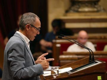 El portavoz de Catalunya Si que es pot, Joan Coscubiela